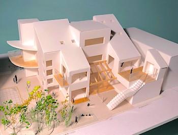 樹保育園園舎建設予定模型